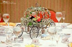 Disney themed wedding centerpiece
