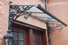 Enhance the beauty of any entranceway with a custom Canopy.  Make your front door of your business or home warm and welcoming with a distinct personality.