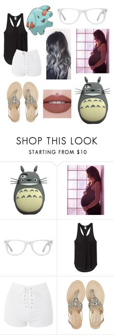 """Going Pokémon hunting! 🐳"" by ed-ward-scissorhands ❤ liked on Polyvore featuring Muse, Topshop, Antik Batik and Jeffree Star"