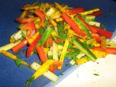 Rainbow Raw Vegetable Salad | fastPaleo Primal and Paleo Diet Recipes
