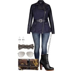 A fashion look from November 2014 featuring H&M jeans, By Malene Birger ankle booties and Clare V. clutches. Browse and shop related looks.