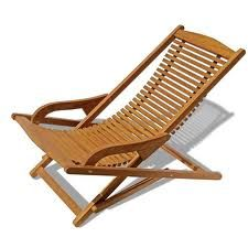 BROMM– Chaise outdoor black brown