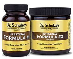 Dr Schulzes Intestinal Formula 1 90 Count and Intestinal Formula 2 Powder * Click for Special Deals #LiverCleanse Colon Cleanse Detox, Constipation Relief, Belly Fat Burner, Burn Belly Fat Fast, Gut Health, Formula 1, Herbalism, Cool Things To Buy, How To Remove