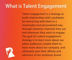 Why Talent Engagement Is More Strategic Than Talent Attraction | Rally® Recruitment Marketing Engagement Strategy, Employee Engagement, Career Sites, Lead Nurturing, Email Service Provider, Employer Branding, Hiring Process, Community Organizing, Instructional Design