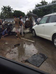 3 die in major accident on Eastern Freeway, Chembur entry blocked 1