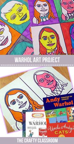 Andy Warhol Art Project for Kids