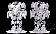 Iron Man Mk. 44 - Veronica (a.k.a. the Hulkbuster) on Behance