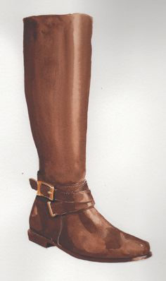 Classic must have -- equestrian inspired boot.