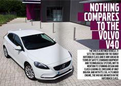 Volvo V40. Read more in the latest Volvo Kronika magazine.  http://cloud.idealershipmag.com/go/volvo_colchester_kronika_winter/#16