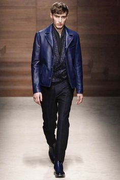 Salvatore Ferragamo Fall 2014 Menswear Collection Slideshow on Style.com.......YES! YES! YES! to this look:)