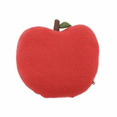Apple cushion by Oeuf NYC