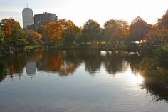 The beautiful Charles River in Boston