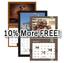 Bulk custom photo calendars