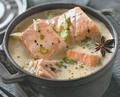 Une blanquette de saumon en un rien de temps, c'est possible: vite, la recette!