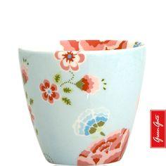 Greengate latte cup Karla blue