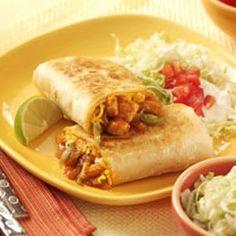 Barbecue+Chicken+Burritos main-course-recipes