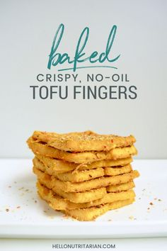 no oil nutritarian recipe crispy baked tofu Dr fuhrman eat to live 6 week program dr fuhrman plan