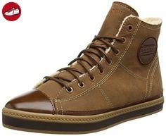 ESPRIT Alamak Bootie, Damen Hohe Sneakers, Braun (225 toffee), 37 EU - Esprit schuhe (*Partner-Link)