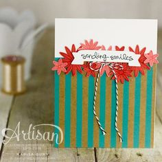 OSAT Blog Hop May Flowers, cards and box featuring the Grateful Bunch stamp set, Blossom Bunch Punch and Shine On paper from Stampin' Up by Marisa Gunn