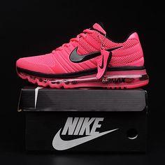 Nike Air Max 2017 Peach Women Running Shoes