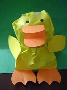 Preschool Crafts for Kids*: 13 Paper Bag Preschool Crafts for Kids