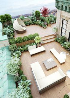 Une terrasse en bois au style minimaliste - Marie Claire Maison