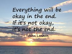 Simple Moodlings: Laudato Si: Sunday Reflection #48... Everything will be okay in the end
