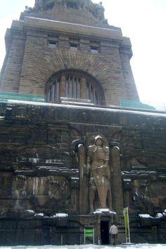 Völkerschlachtdenkmal (Battle of Nations) - Entrance to monument