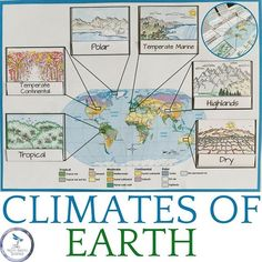 Weather and Climate: Earth Science Interactive Notebook •Weather Patterns •Weather Forecasts •Climates of Earth •Factors that Influence Climate •Climate Cycles & Recent Climate Change
