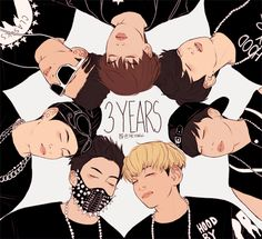 BTS Happy three year anniversary