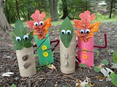 Fall Craft Fun! Easy-Peasy Autumn Crafts to Make with Your Kids: