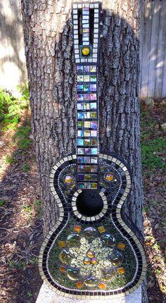 Iridescent Beauty by Elsieland Mosaics, via Flickr