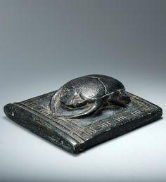 Pectoral with Heart scarab, New Kingdom, Dynasty 19, ca. 1307-1196 B.C.