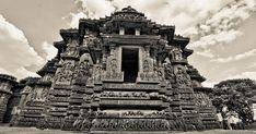 Unknown Ancient Historical Tourist Destinations in India: Halebidu, Beautifully Carved Hoysaleswara Temple in Karnataka South India Tourism, Ajanta Caves, Ruined City, Visit India, Hindu Temple, Tourist Places, Karnataka, Incredible India, Capital City
