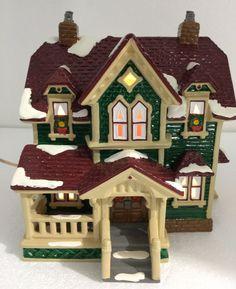 Dept 56 Original Snow Village Hartford House Building w Light Cord 5426-7