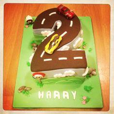Number 2, car cake!