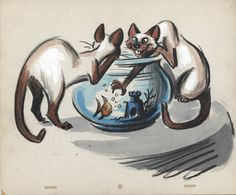 Joe Rinaldi's  Lady and the Tramp   storyboards... - The Disney Elite