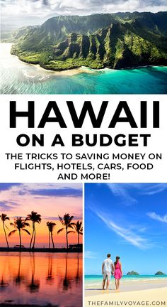 Think a trip to Hawaii has to be expensive? Think again! We'll show you how to save money on where to stay in Hawaii, what to eat in Hawaii, things to do in Hawaii and more. Yes, you CAN visit Hawaii on a budget. before you travel to Hawaii! Kauai, Oahu Hawaii, Visit Hawaii, Hawaii Honeymoon, Hawaii Deals, Lahaina Maui, Honeymoon Places, Bora Bora, Cool Places To Visit