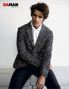 Mitchell Nguyen McCormack photographs Brenton Thwaites in a smart outfit from Etro.