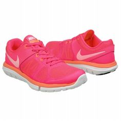 Athletics Nike Women's FLEX RUN 2014 Hyper Pink/White/Bri FamousFootwear.com