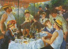 Reproducción de Renoir Auguste, Almuerzo de remeros