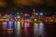 Hong Kong At Night  www.theroadlestraveled.com