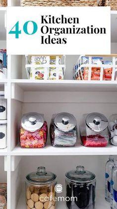 40 Kitchen Organization Hacks That Make A Space Feel Bigger