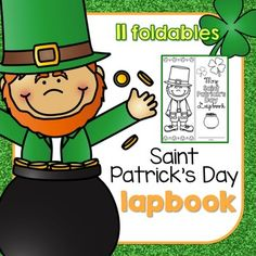 Celebrate the Luck of the Irish with this Saint Patrick's Day lapbook! Learn a little history about the holiday and share your thoughtsWhat do I get?- 1 cover options- 11 different foldables- 1st through 4th usability - how to for each foldable with picture guideWhat do students get to reflect on?- The History of St. $4.00
