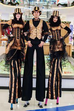 variety show  Stilts walker (costume):