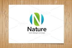 Nature - Logo Template by marish logomaker on Creative Market