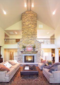 <3..Ackerman Place Craftsman Home Fireplace Photo 01 from houseplansandmore.com