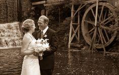 Waterfall, lake and old mill wheel? OMG, yes please!  Taken at the Highland Lake Inn & Resort in Hendersonville, NC Destination Weddings, Waterfall, Waterfalls