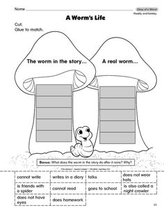 Dig into reading coloring pages ~ This is a free lost worm coloring page. Its a printable ...