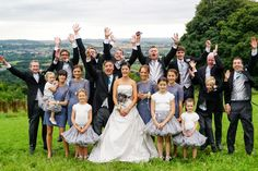 wedding bride and groom group photo great idea for a bride.  Ferla Paolo Photography - Wedding and Ceremonies Photographer in Bath and Bristol